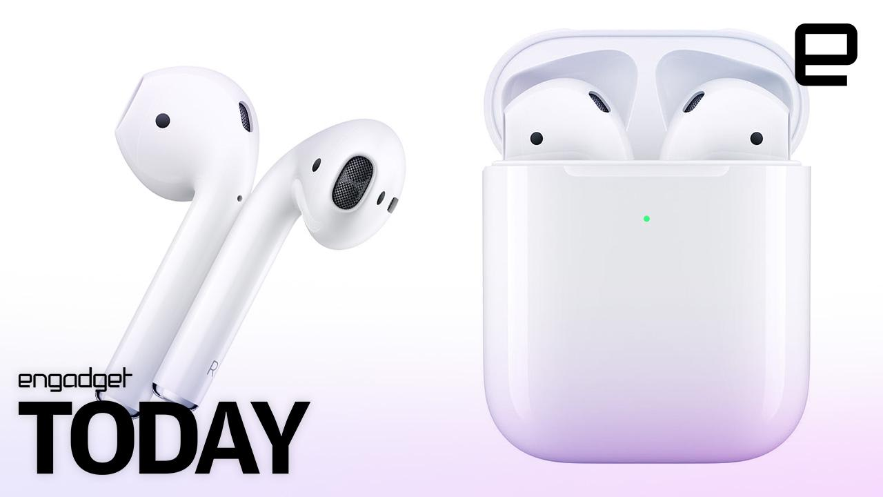 best service 34527 e7bac Apple's new AirPods offer longer battery life and wireless charging case