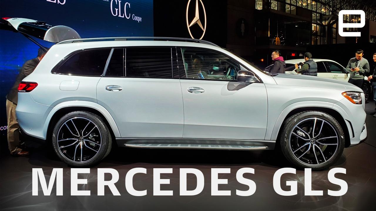 New Mercedes Benz >> The New Mercedes Benz Gls Is Luxuriously Extra Engadget