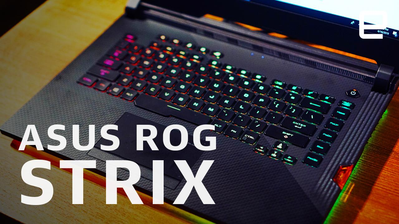 ASUS' Strix III gaming laptops take cues from BMW's design gurus