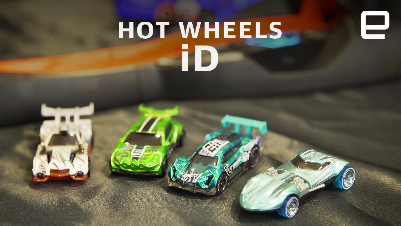 NFC-enabled Hot Wheels cars keep tabs on which is fastest