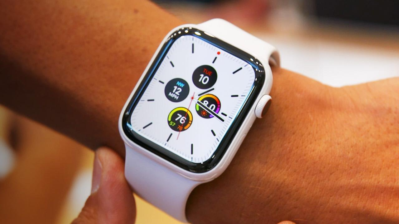 Visual result for Apple Watch Series 5