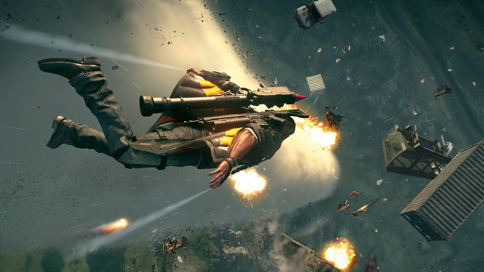 The best weapon in 'Just Cause 4' is Mother Nature