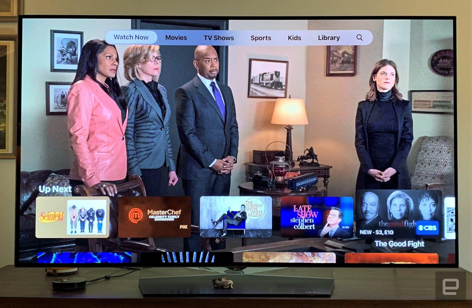 Apple's new TV app is a work in progress