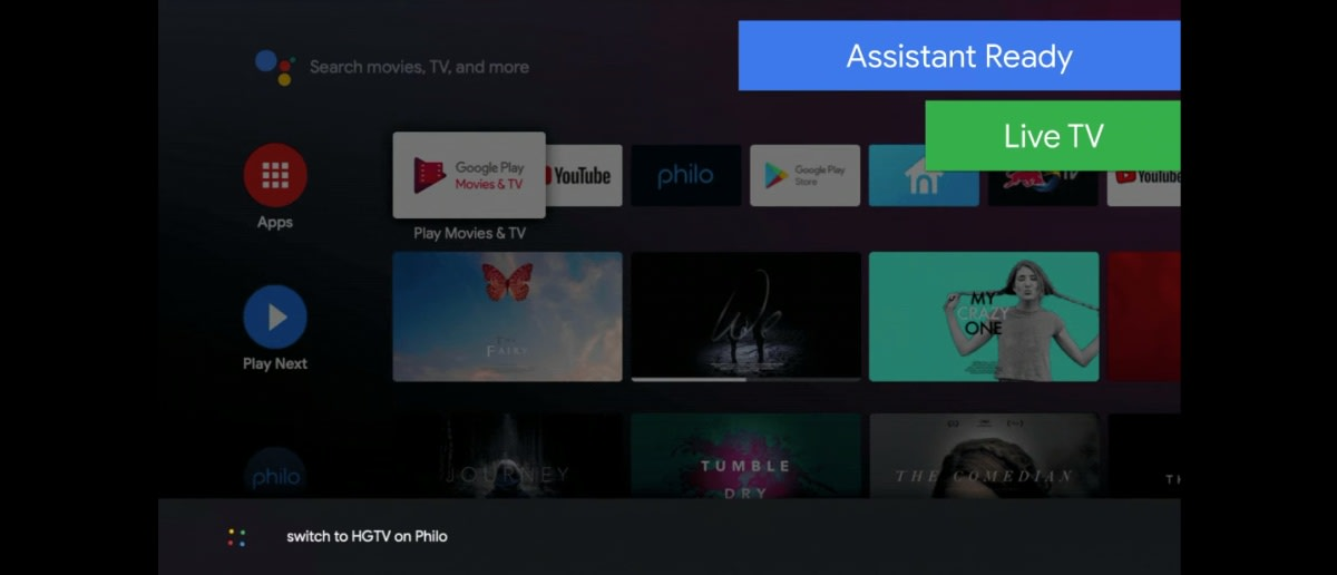 Android TV will benefit once Assistant is linked to live TV
