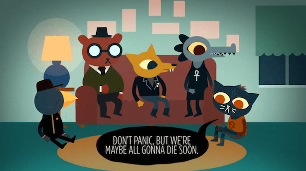 Night In The Woods Snappy Dialogue Inspired By Twitter