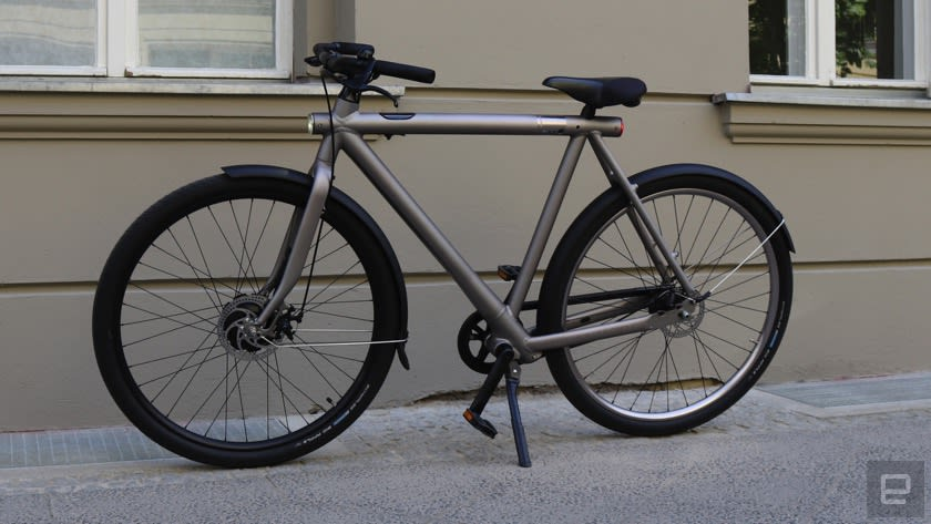 electrified s vanmoof berarbeitet e bike. Black Bedroom Furniture Sets. Home Design Ideas