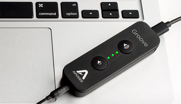 apogee 39 s usb headphone amp is an audio boost in a tiny package. Black Bedroom Furniture Sets. Home Design Ideas