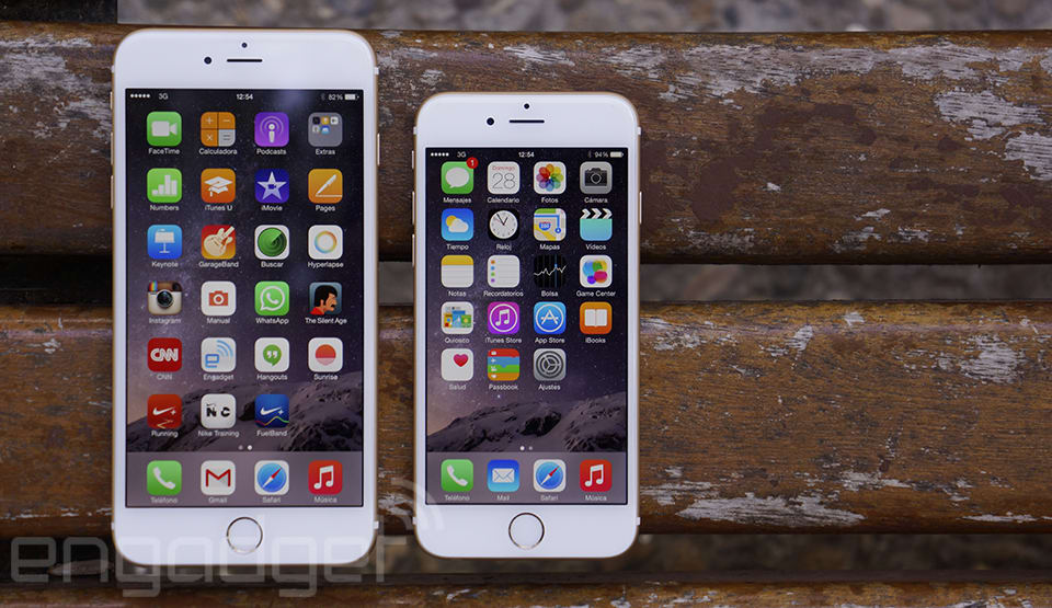 dcf6344e756 iPhone 6 y iPhone 6 Plus, análisis: ¿Más grande es siempre mejor?
