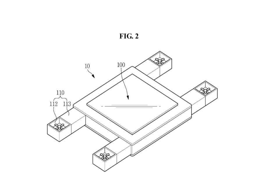 Samsung patenta unas pantallas voladoras que son capaces