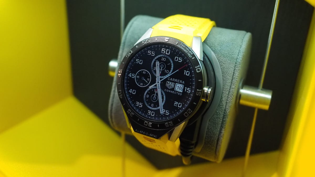 Tag Heuers Connected Smartwatch Looks Like An Actual Watch Analog Digital Circuits Articlequot Projects Quot Tagged