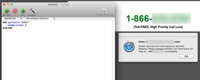 Kill no-close-em Safari pages with AppleScript