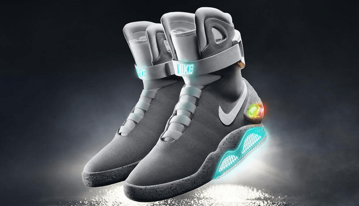 d8fb15495d7 Nike s power-laced  Back to the Future  shoes arrive in 2016