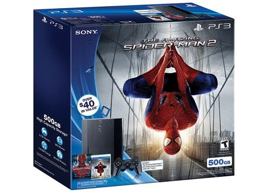 The Amazing Spider Man 2 Caught In Ps3 Bundles Web