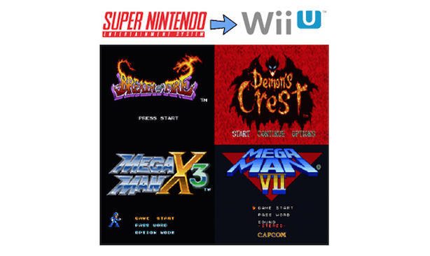 Capcom adding 15 NES, SNES, GBA games to Virtual Console