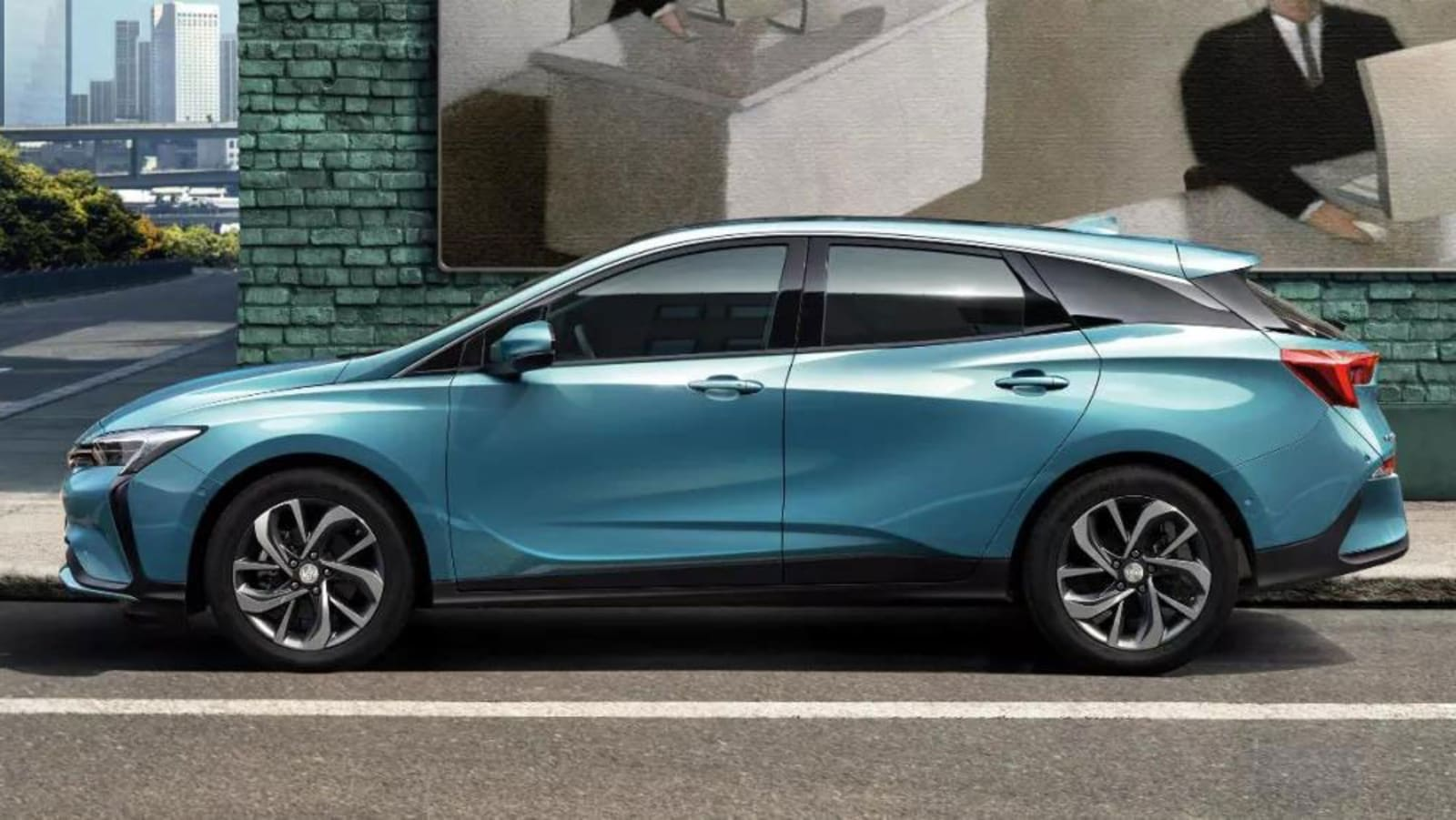 Buick Is Making A Splash At The 2019 Shanghai Motor Show It Just Debuted Brand S First All Electric Vehicle