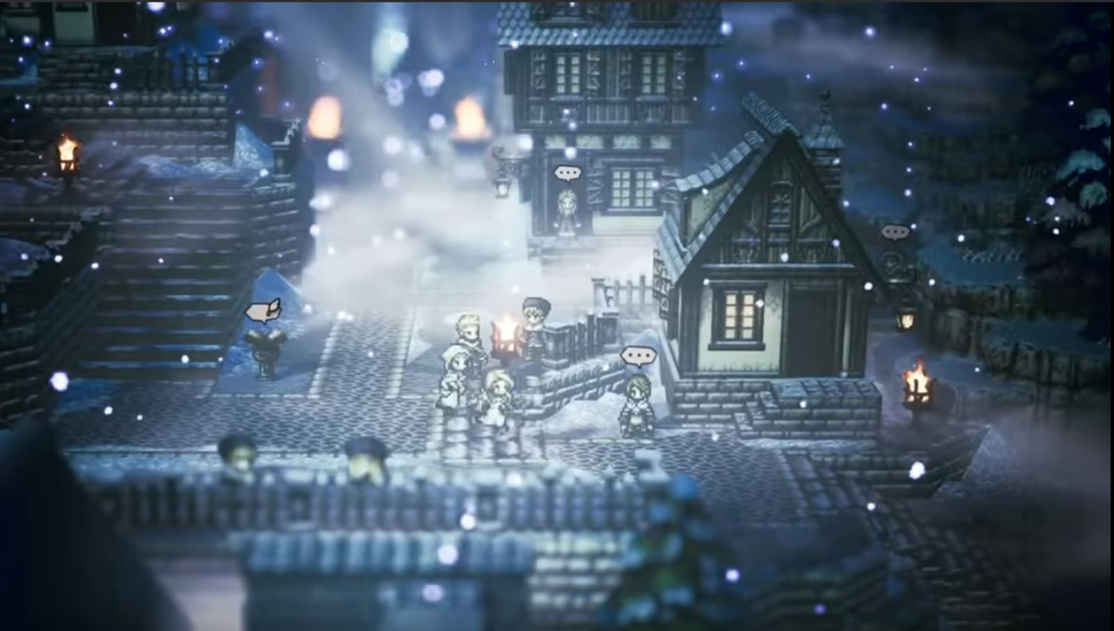 Switch RPG 'Octopath Traveler' comes to PC this summer