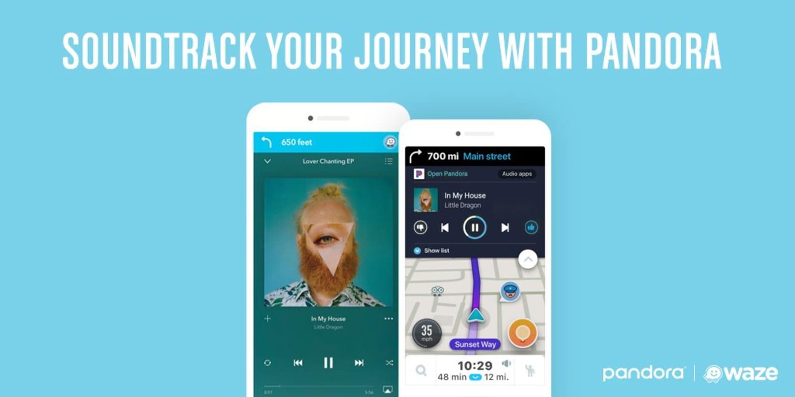 pandora app wont work on iphone