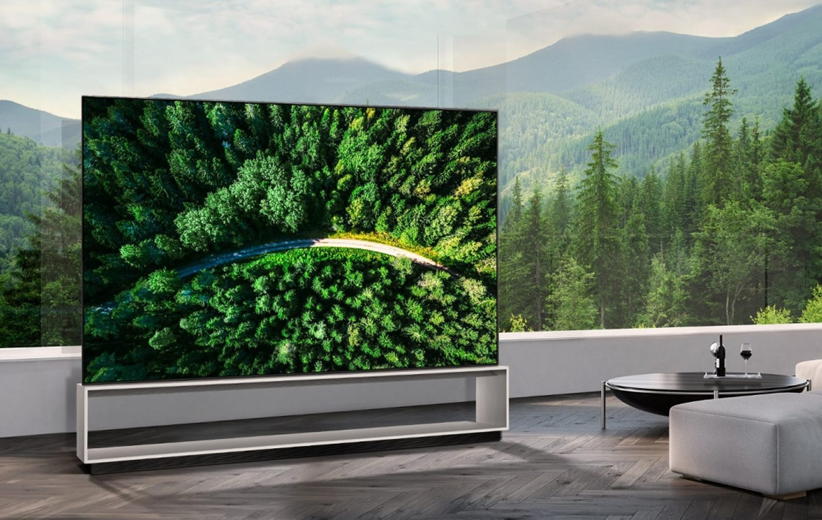 LG's 8K OLED TV is as big as it is expensive