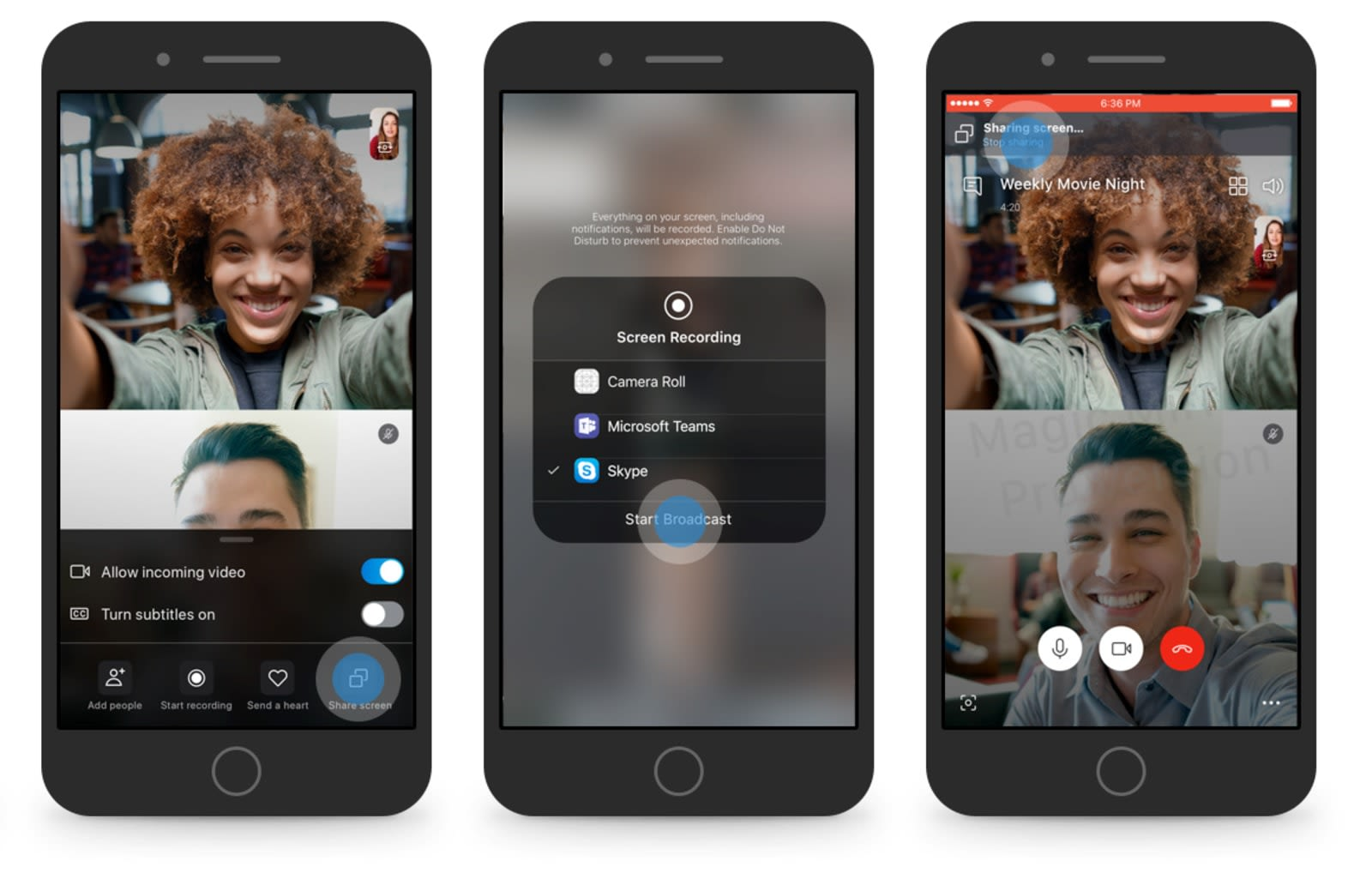 How to video skype on iphone