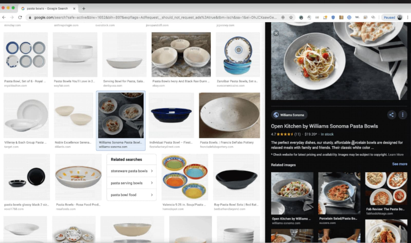 Google updates Images to make it easier to compare products