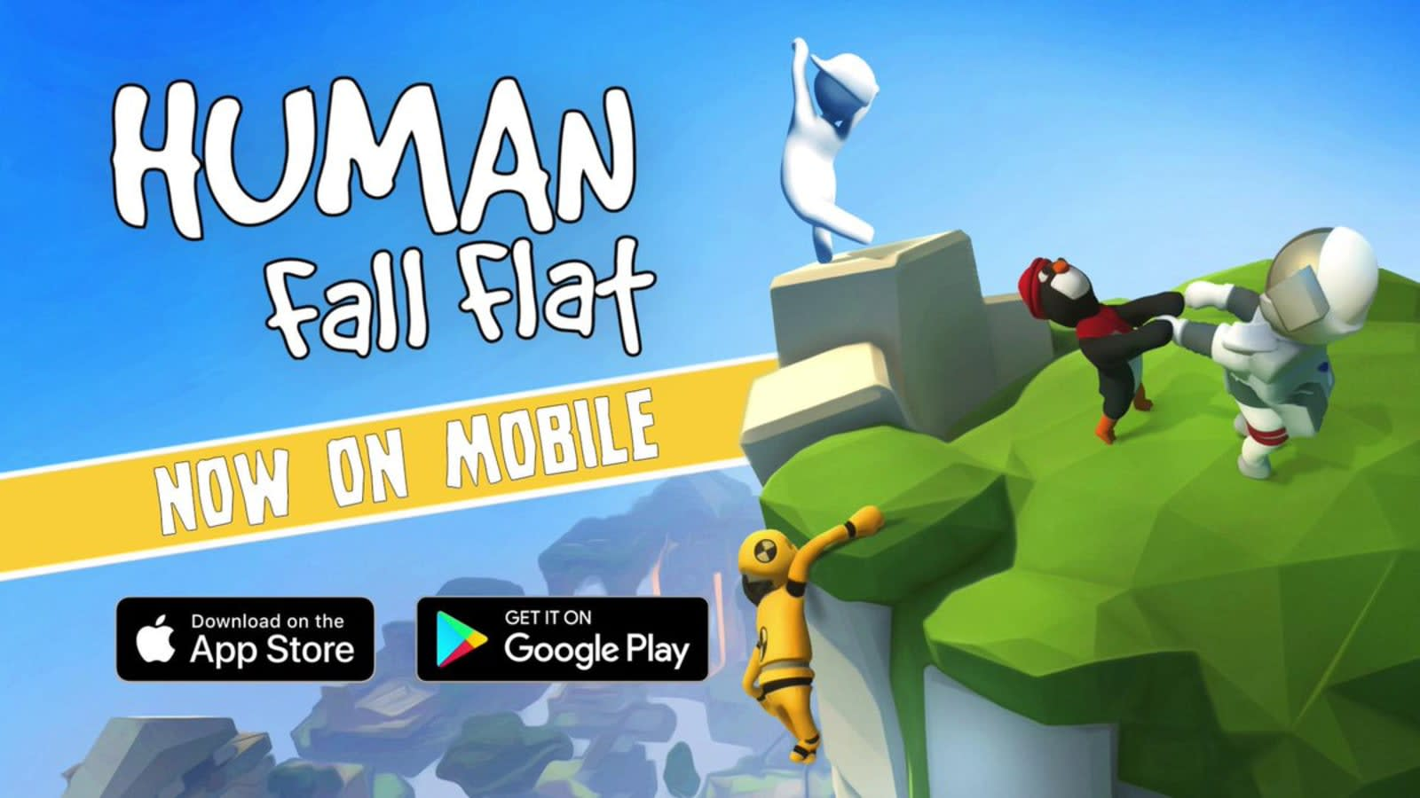 Human Fall Flat' lands on iOS and Android June 26th