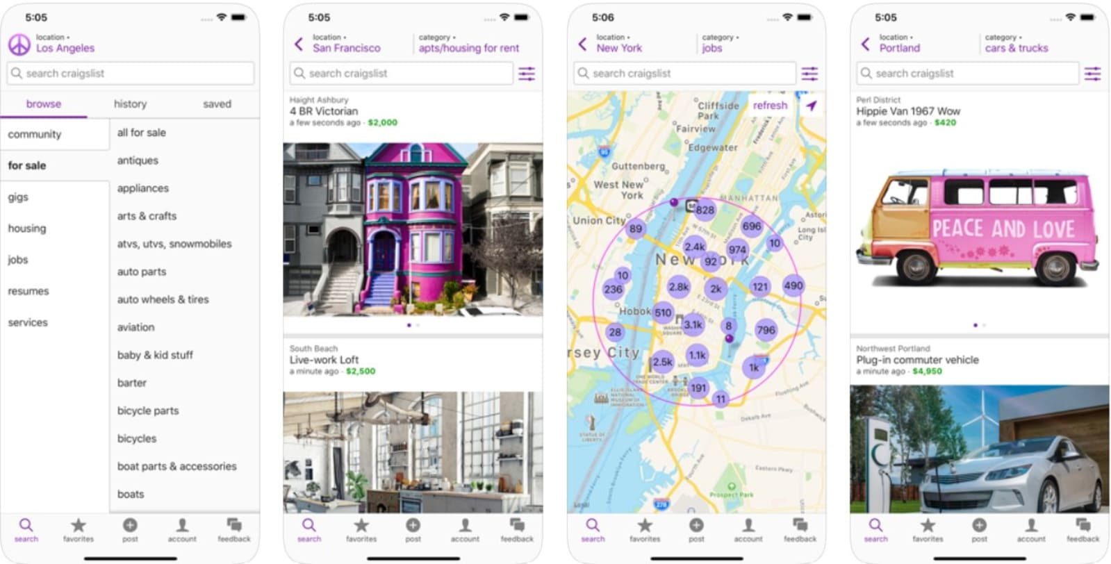 Craigslist Only Took 11 Years To Make Its Own Ios App Engadget