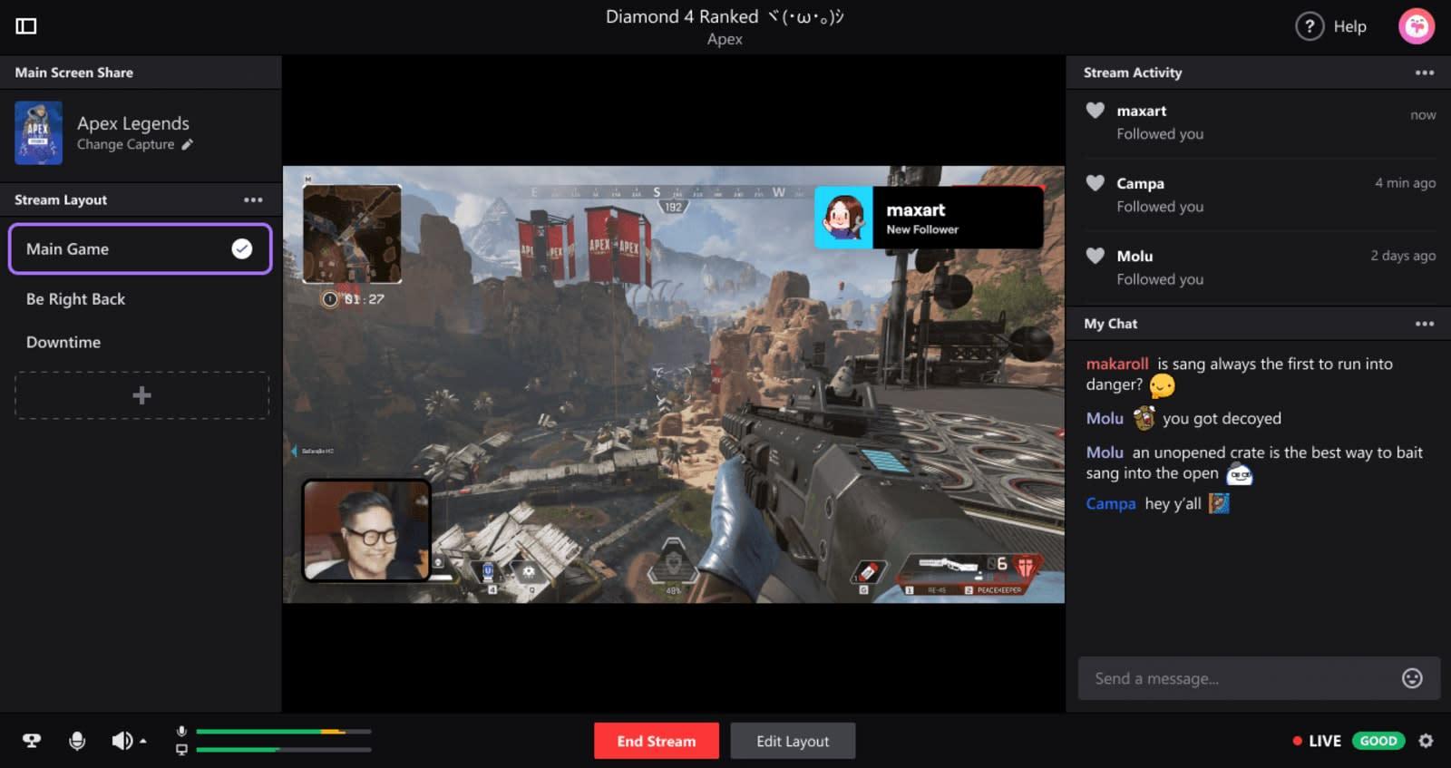 Twitch unveils its own desktop broadcasting app