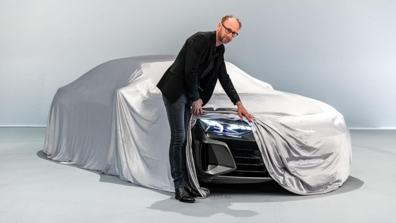 Audi Teases Its E Tron Gt Sedan