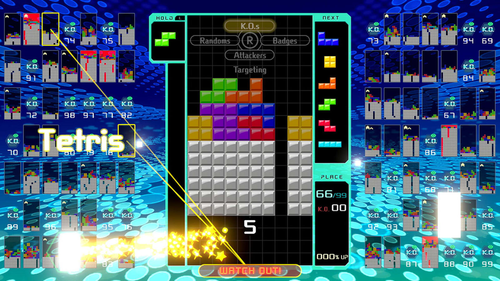 Nintendo will let you play 'Tetris 99' offline for $10