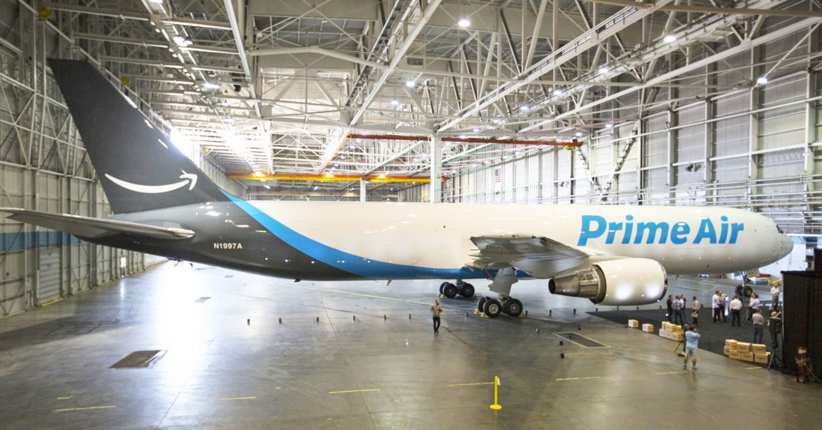 Amazon expands its airborne shipping fleet to 50 planes