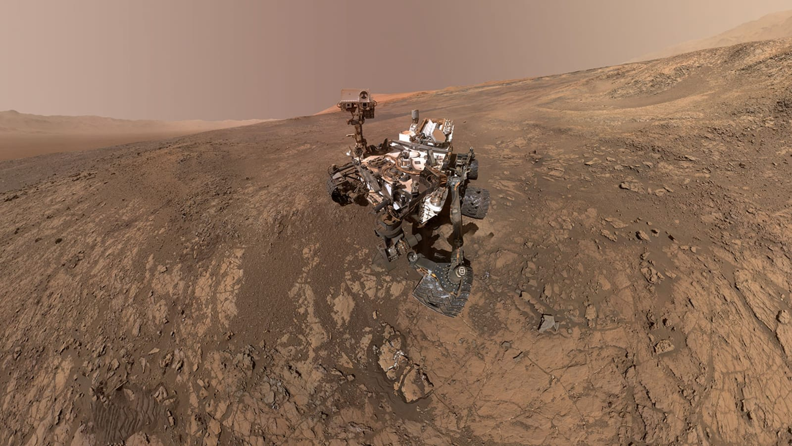 NASA just witnessed its biggest methane gas emission on Mars