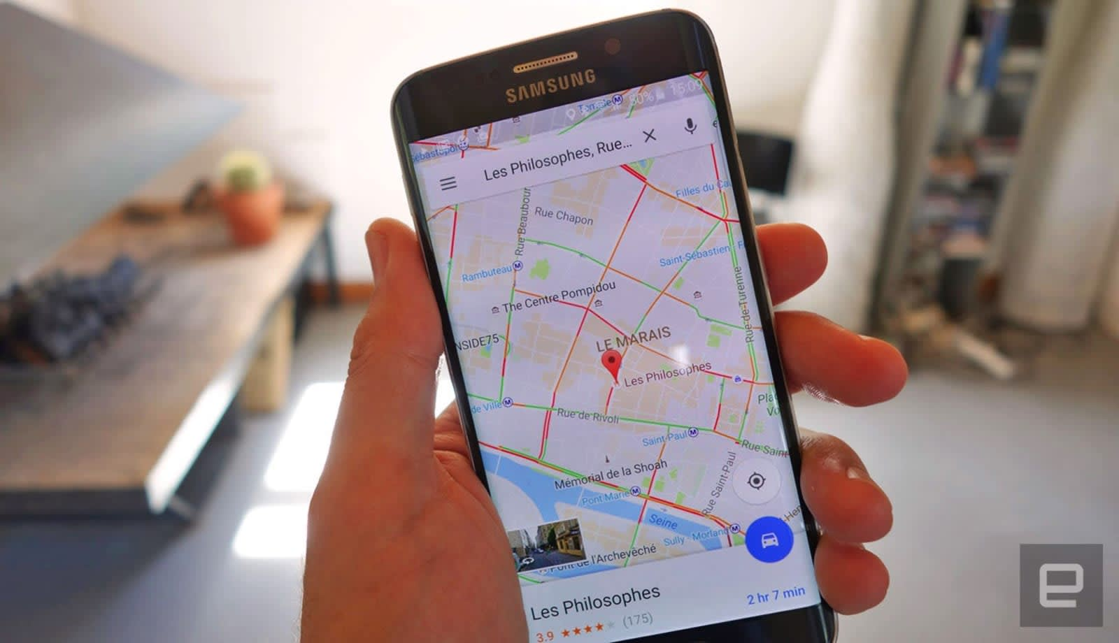 Google Maps' location sharing now includes your battery life