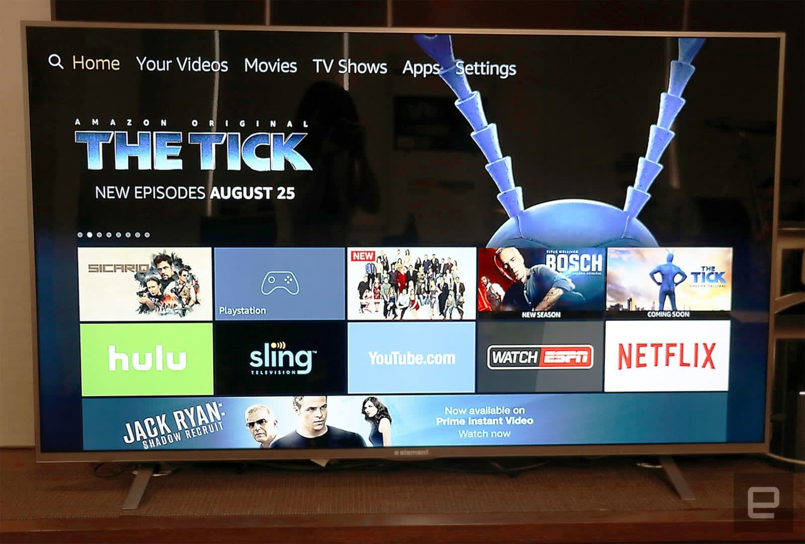 Control Hulu with your voice on Amazon's Fire TV devices
