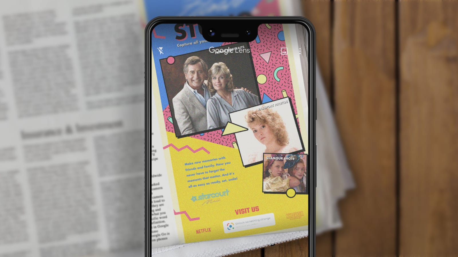 Google placed 'Stranger Things' AR ads in 'The New York Times'