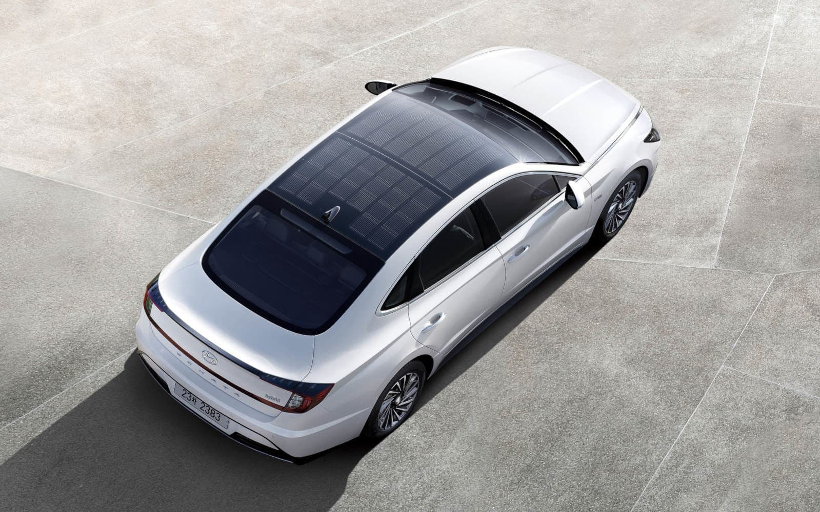 Hyundai's first car with a solar roof is available in Korea