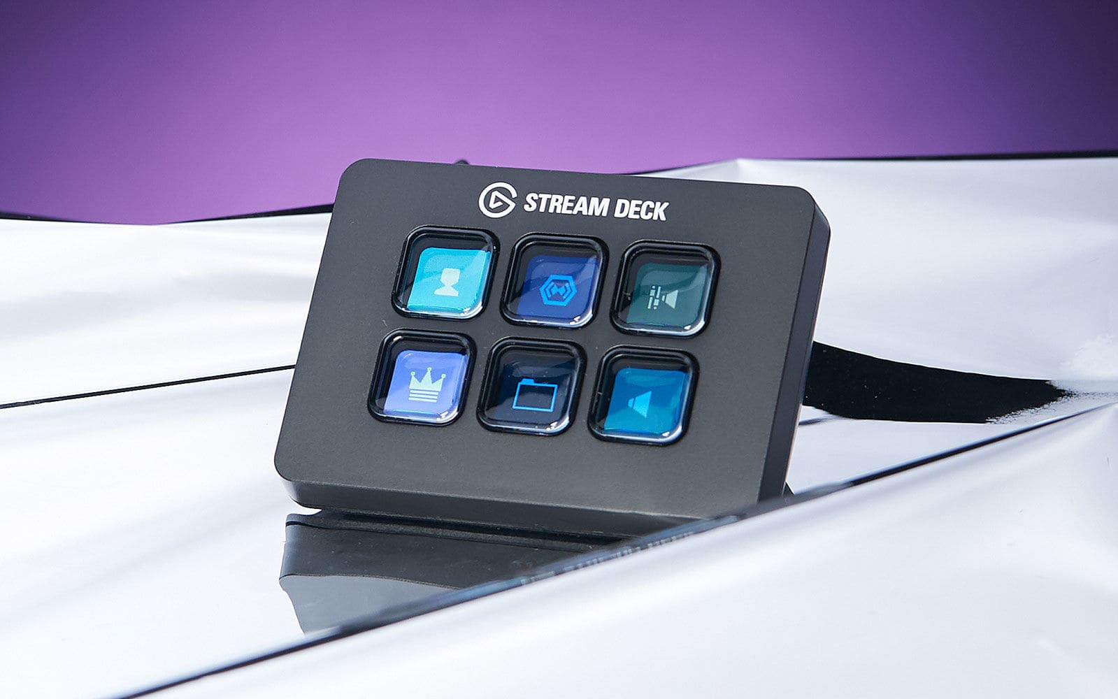 The Elgato Stream Deck Mini we just recommended is 50