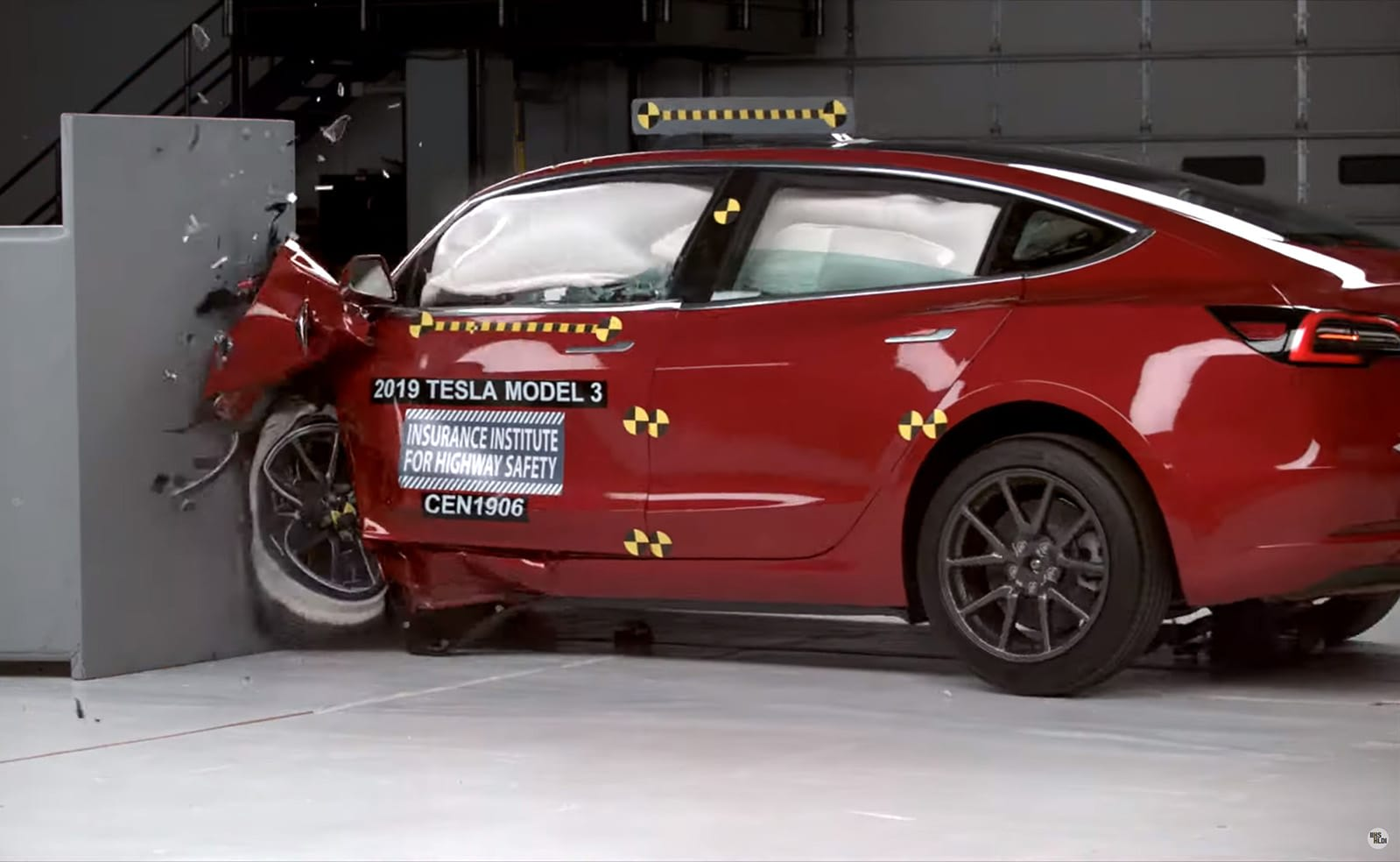 Tesla's Model 3 joins Audi's E-Tron in claiming top safety award