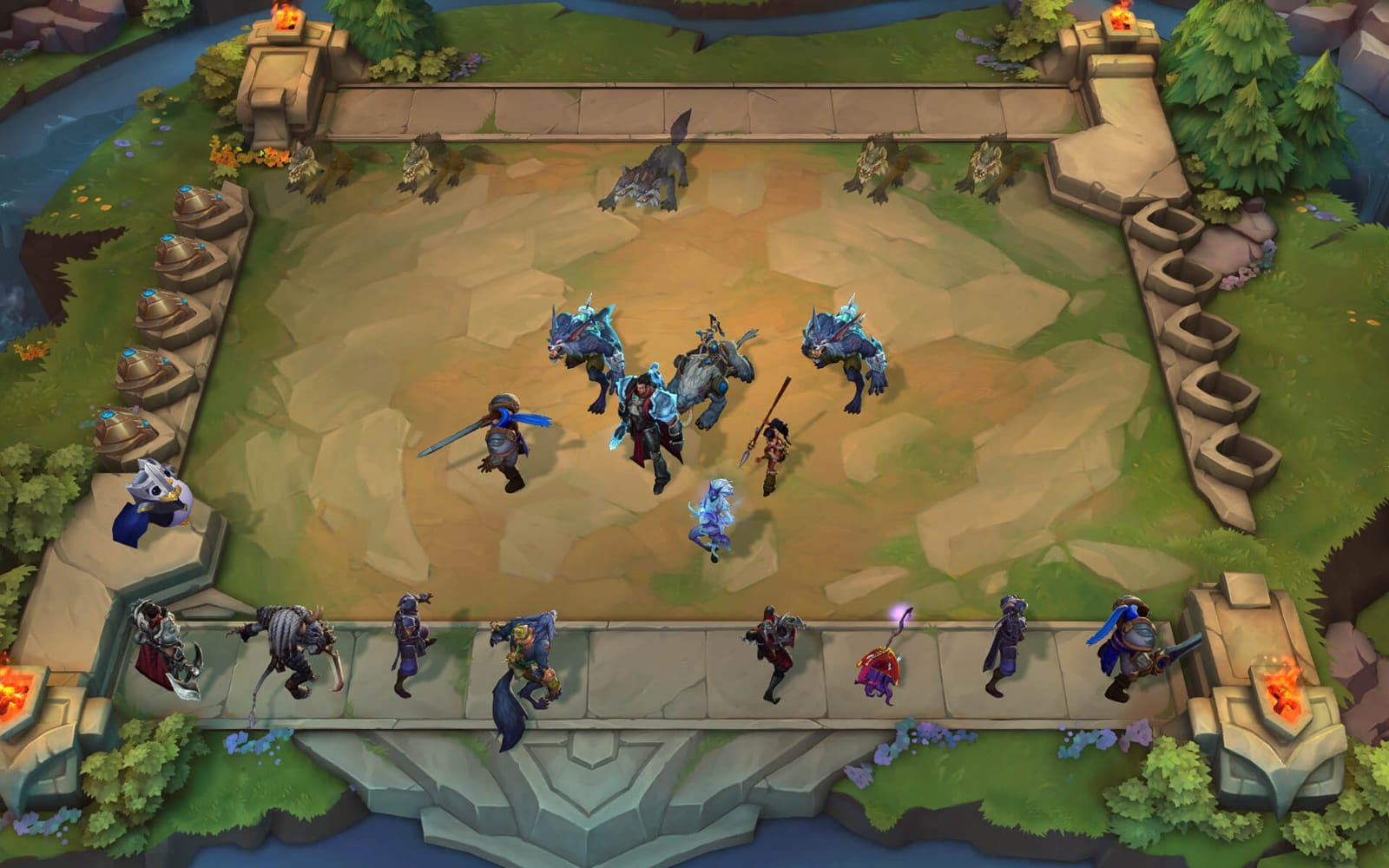 League of Legends' take on 'Auto Chess' reaches open beta