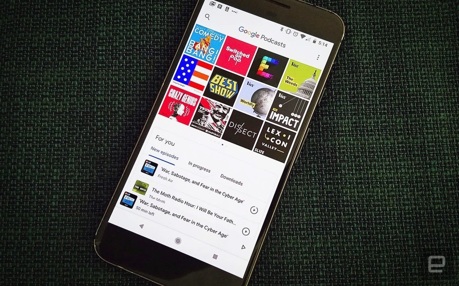 Google Podcasts gets a much-needed personalized recommendations tab