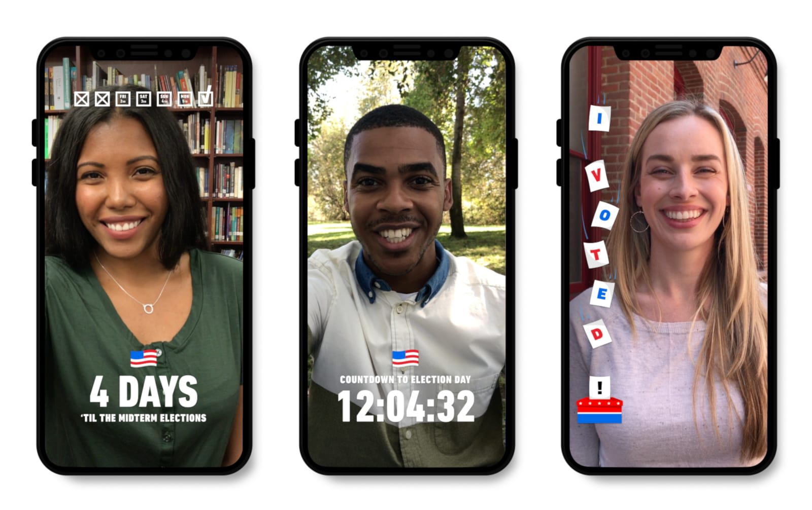 Snapchat pushes voters toward the nearest polling place