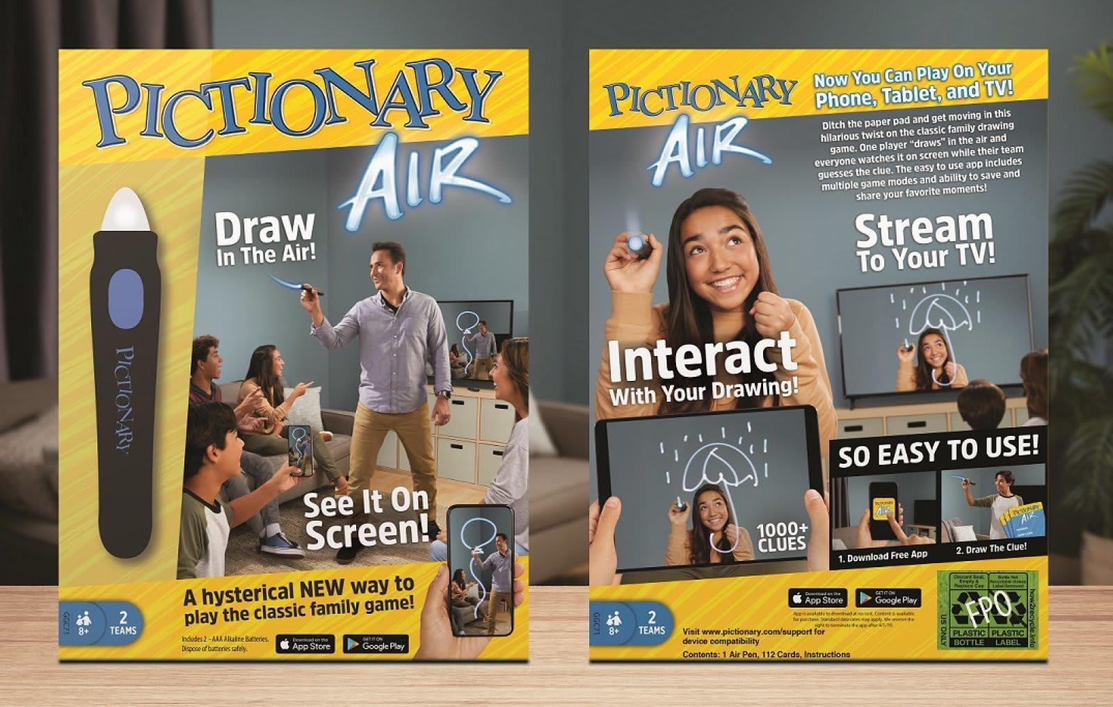 Next-gen 'Pictionary Air' arrives at Target June 23rd