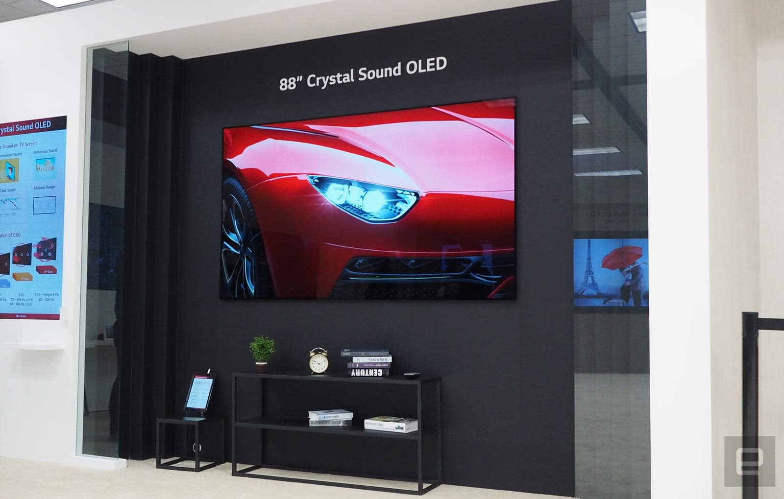 LG Display's 88-inch 8K OLED has Dolby Atmos sound but no