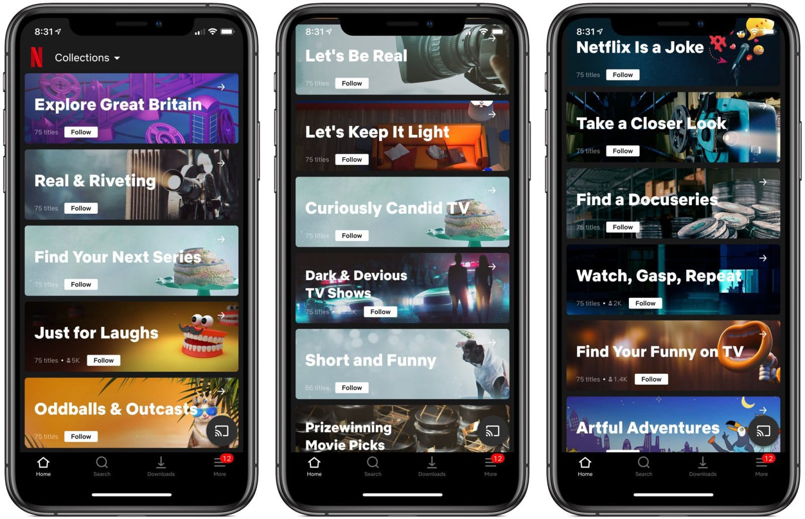 Netflix test brings human-curated 'Collections' to streaming