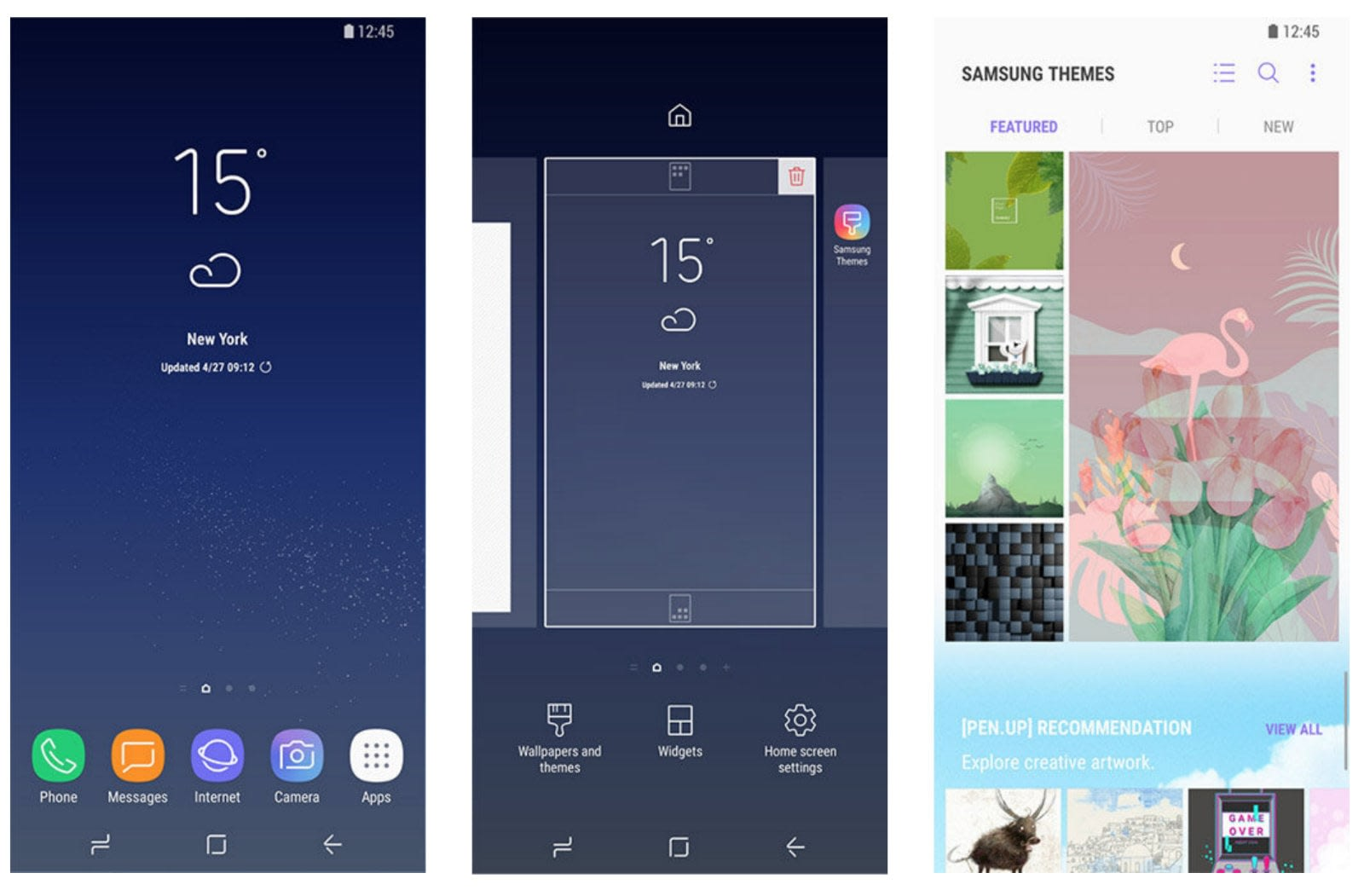Samsung's free Galaxy phone themes won't be free anymore