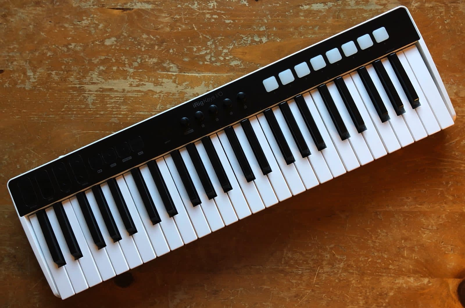 The iRig Keys I/O makes it easy to streamline your studio