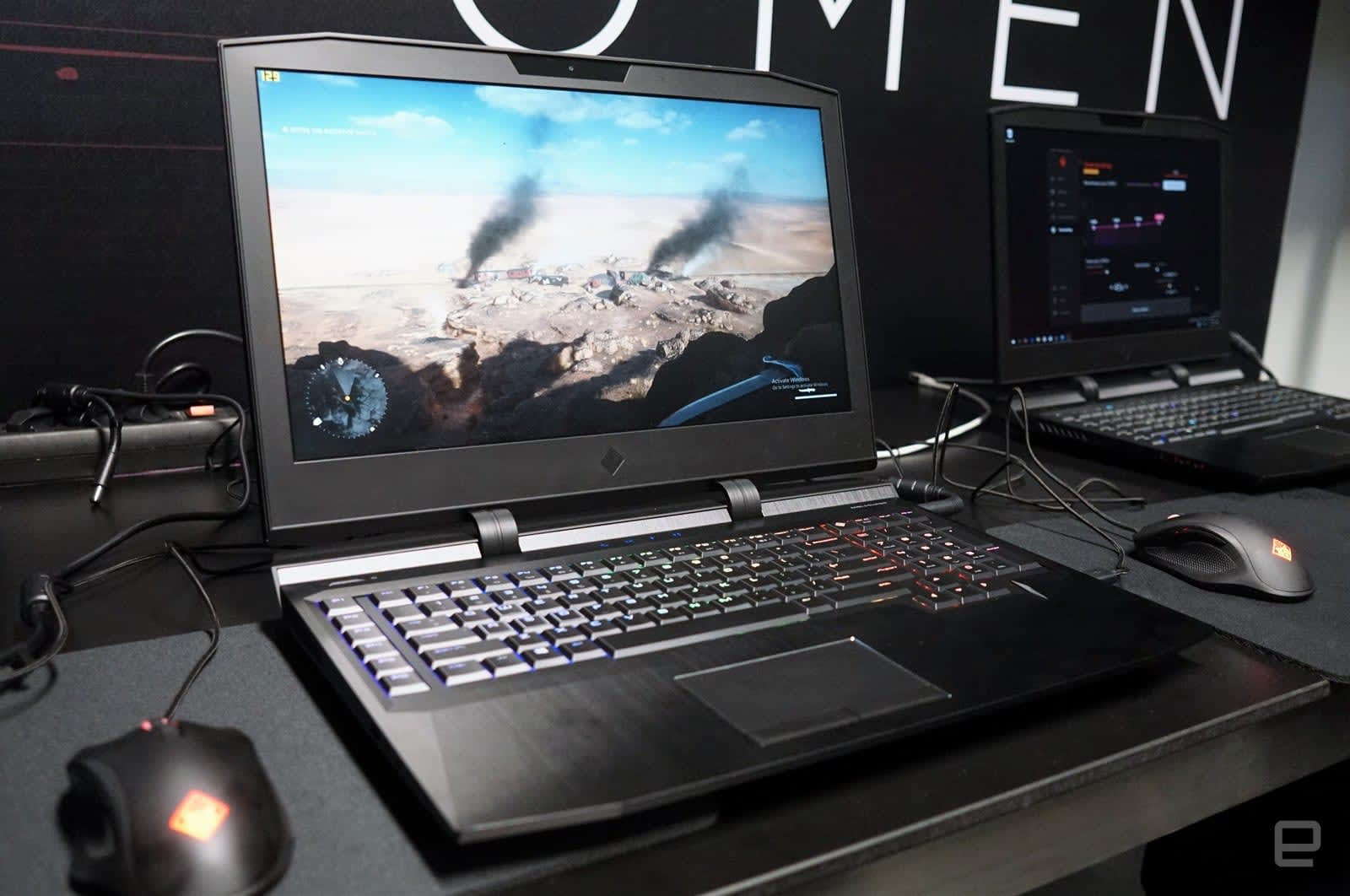 HP's Omen X is a monstrous, customizable gaming laptop