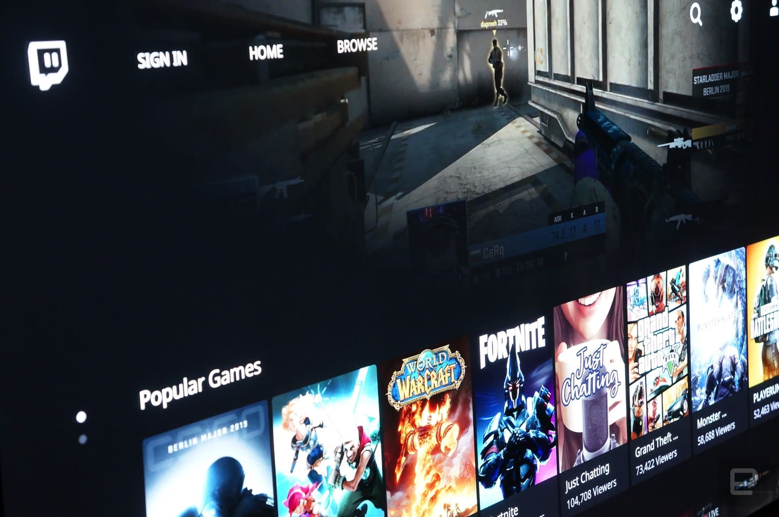 Twitch finally releases Apple TV app as public beta