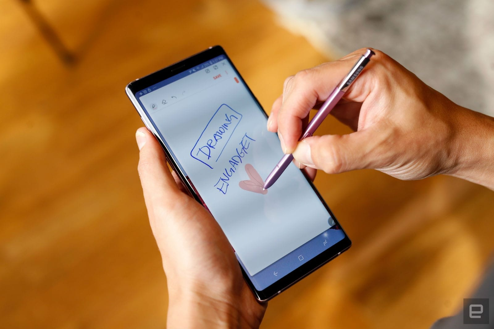 Someone at Samsung thinks a stylus with a camera is a good idea