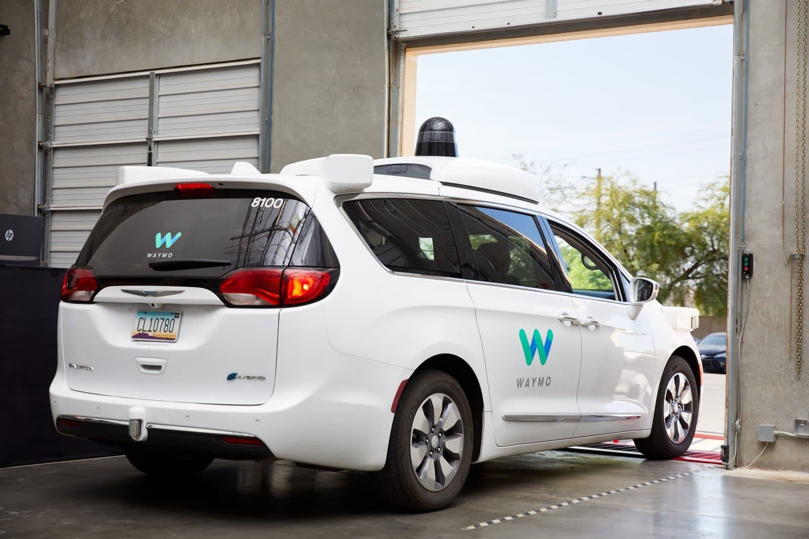 Waymo is building a new service center for its self-driving