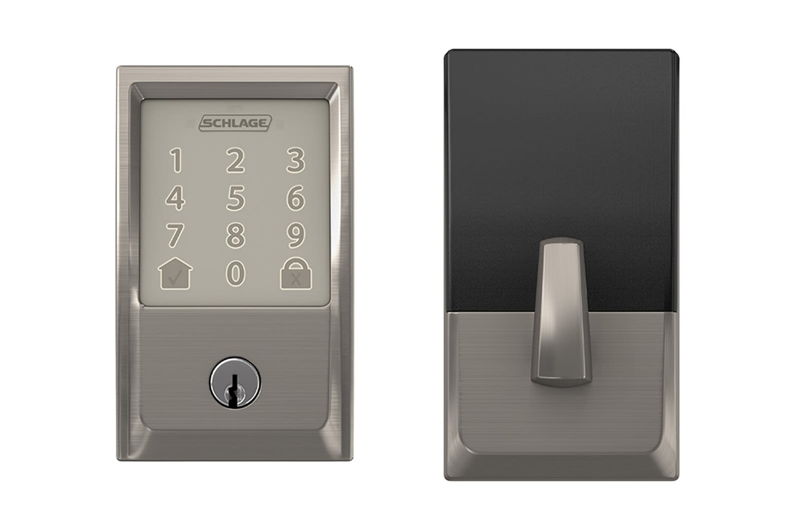 f397764ad025 Schlage s WiFi deadbolt lock can open the door for Amazon couriers